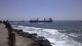 Το ειρηνικό Antofagasta Χιλή Στοκ εικόνα με δικαίωμα ελεύθερης χρήσης
