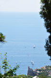 Το ειδύλλιο της θάλασσας Στοκ εικόνες με δικαίωμα ελεύθερης χρήσης