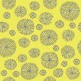 Εκλεκτής ποιότητας σχέδιο λουλουδιών Στοκ εικόνες με δικαίωμα ελεύθερης χρήσης