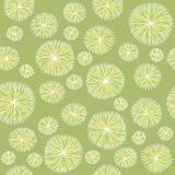Εκλεκτής ποιότητας σχέδιο λουλουδιών Στοκ Εικόνες