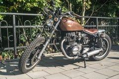 Το εκλεκτής ποιότητας Motorbike Στοκ φωτογραφίες με δικαίωμα ελεύθερης χρήσης