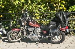 Το εκλεκτής ποιότητας Motorbike Στοκ Εικόνες