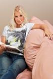 το ελκυστικό βιβλίο δι&alph Στοκ εικόνα με δικαίωμα ελεύθερης χρήσης