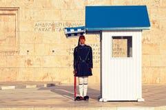 το ελληνικό Κοινοβούλι& Στοκ Εικόνα