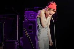 Το εναλλασσόμενο ρεύμα Caesars παρουσιάζει τη Fiona Apple Live Στοκ Φωτογραφίες