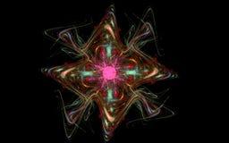 Το ενεργειακό αστέρι είναι ένα φανταστικό Στοκ Εικόνες