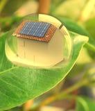 το ενεργειακό σπίτι καθ&iota στοκ εικόνες
