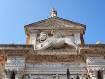 Το ενετικό οπλοστάσιο, Βενετία, Ιταλία Στοκ φωτογραφία με δικαίωμα ελεύθερης χρήσης