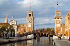 Το ενετικό οπλοστάσιο στη Βενετία, βόρεια Ιταλία Στοκ Φωτογραφίες