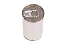 Το ενιαίο μέταλλο μπορεί απομονωμένος στο άσπρο υπόβαθρο Στοκ φωτογραφία με δικαίωμα ελεύθερης χρήσης