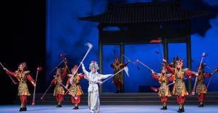 """Το ενυδρείο και τα protoss η πόλεμος-έκτη πράξη ποτίζουν τις υπερχειλίσεις χρυσό λόφος-Kunqu Opera""""Madame άσπρο Snake† Στοκ Φωτογραφία"""