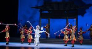 """Το ενυδρείο και τα protoss η πόλεμος-έκτη πράξη ποτίζουν τις υπερχειλίσεις χρυσό λόφος-Kunqu Opera""""Madame άσπρο Snake† Στοκ φωτογραφίες με δικαίωμα ελεύθερης χρήσης"""