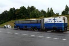 Το ενωμένο intercity λεωφορείο της VOLVO στοκ φωτογραφία με δικαίωμα ελεύθερης χρήσης