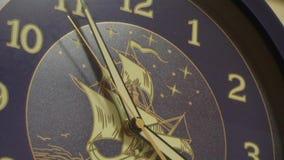 Το εξαφανιμένος χρονικό ρολόι απόθεμα βίντεο