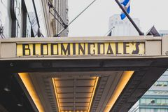 Το εξωτερικό του πολυκαταστήματος Bloomingdale ` s στο Μανχάταν, επάνω στοκ φωτογραφίες με δικαίωμα ελεύθερης χρήσης
