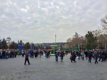 Το εορταστικό δίκαιο Nowruz στο Μπακού, Αζερμπαϊτζάν Στοκ φωτογραφία με δικαίωμα ελεύθερης χρήσης
