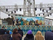 Το εορταστικό δίκαιο Nowruz στο Μπακού, Αζερμπαϊτζάν Στοκ Εικόνες