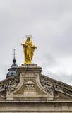 Το επίχρυσο άγαλμα του Madonna, Assisi Στοκ φωτογραφίες με δικαίωμα ελεύθερης χρήσης