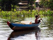 Το επιπλέον χωριό, σφρίγος Tonle, Καμπότζη, Siem συγκεντρώνει Στοκ φωτογραφίες με δικαίωμα ελεύθερης χρήσης