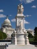 Το επισκεπτόμενο Washington DC Στοκ Φωτογραφίες