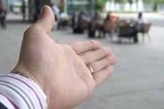 το επιχειρησιακό χέρι ει&sig Στοκ φωτογραφία με δικαίωμα ελεύθερης χρήσης