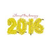 Το ερχόμενο έτος του πιθήκου που αγαπά τις μπανάνες Στοκ Εικόνα