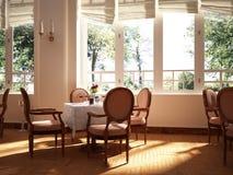 Το εστιατόριο Στοκ φωτογραφία με δικαίωμα ελεύθερης χρήσης