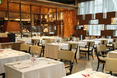Το εστιατόριο στοκ εικόνες