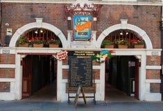 Το εστιατόριο Arcade κήπων Portobello  Λονδίνο, UK Στοκ Εικόνες
