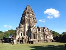Το εσωτερικό άδυτο Prasat Hin Phimai, αρχαίος Khmer ναός σύνθετος στο porvince Nakhon Ratchasima στοκ εικόνες