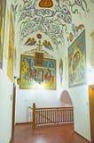 Το εσωτερικό μοναστηριών Στοκ εικόνα με δικαίωμα ελεύθερης χρήσης