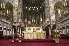 Το εσωτερικό της βασιλικής του ST Anthony ` s είναι μια καθολική εκκλησία στην πόλη της Πάδοβας, ένα αρχιτεκτονικό μνημείο, το κύ Στοκ φωτογραφία με δικαίωμα ελεύθερης χρήσης