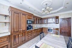 Το εσωτερικό της κουζίνας Στοκ Εικόνα