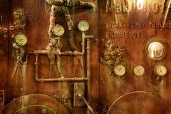 Το εσωτερικό του βυθισμένου σκάφους Ενυδρείο της Ιστανμπούλ Στοκ Φωτογραφία