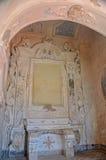 Το εσωτερικό του διάσημου κάστρου Aragonese Στοκ εικόνες με δικαίωμα ελεύθερης χρήσης