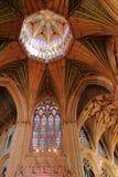 Το εσωτερικό του καθεδρικού ναού - το ανώτατο φανάρι οκταγώνων στοκ εικόνες