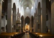 Το εσωτερικό του καθεδρικού ναού Φινλανδία Τουρκού Στοκ Εικόνες