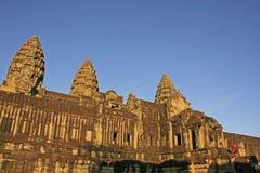 Το εσωτερικό του ναού Angkor Wat, Siem συγκεντρώνει, Καμπότζη Στοκ φωτογραφία με δικαίωμα ελεύθερης χρήσης