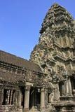 Το εσωτερικό του ναού Angkor Wat, Siem συγκεντρώνει, Καμπότζη Στοκ Εικόνα