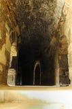 Το εσωτερικό του όμορφου Arles Coliseum Στοκ Εικόνα
