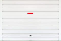 Το λευκό η πόρτα Στοκ εικόνα με δικαίωμα ελεύθερης χρήσης