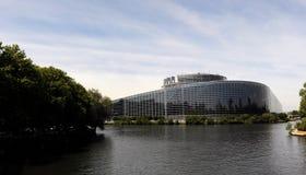 Το Ευρωπαϊκό Κοινοβούλιο Στρασβούργο Στοκ εικόνες με δικαίωμα ελεύθερης χρήσης