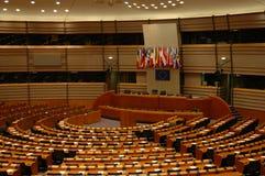 το Ευρωπαϊκό Κοινοβούλιο Στοκ Εικόνες