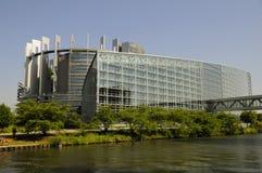 το Ευρωπαϊκό Κοινοβούλ&iota Στοκ Εικόνα