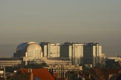 το Ευρωπαϊκό Κοινοβούλ&iota Στοκ εικόνες με δικαίωμα ελεύθερης χρήσης