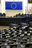 το Ευρωπαϊκό Κοινοβούλ&iota Στοκ φωτογραφίες με δικαίωμα ελεύθερης χρήσης