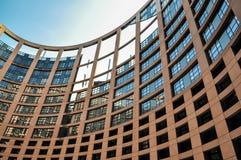 το Ευρωπαϊκό Κοινοβούλ&iota Στοκ Εικόνες