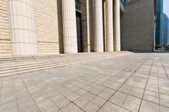 Το ευρύ τετράγωνο Στοκ Φωτογραφίες