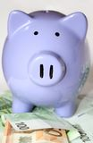 το ευρώ τραπεζών σημειώνε&io Στοκ εικόνα με δικαίωμα ελεύθερης χρήσης