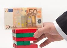 Το ευρώ στοκ φωτογραφία με δικαίωμα ελεύθερης χρήσης